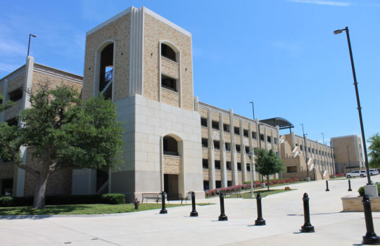 View Project: TCU Frog Alley Parking Garage
