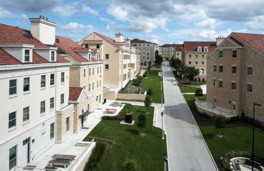 TCU Worth Hills Village Greek Housing Phase 5 and 6