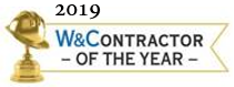 W and C Contractor of the Year 2019 Banner