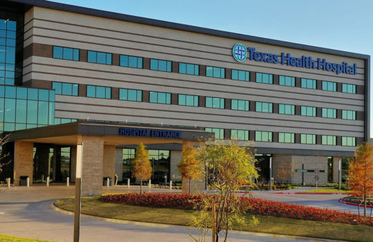 View Project: Texas Health Mansfield Hospital